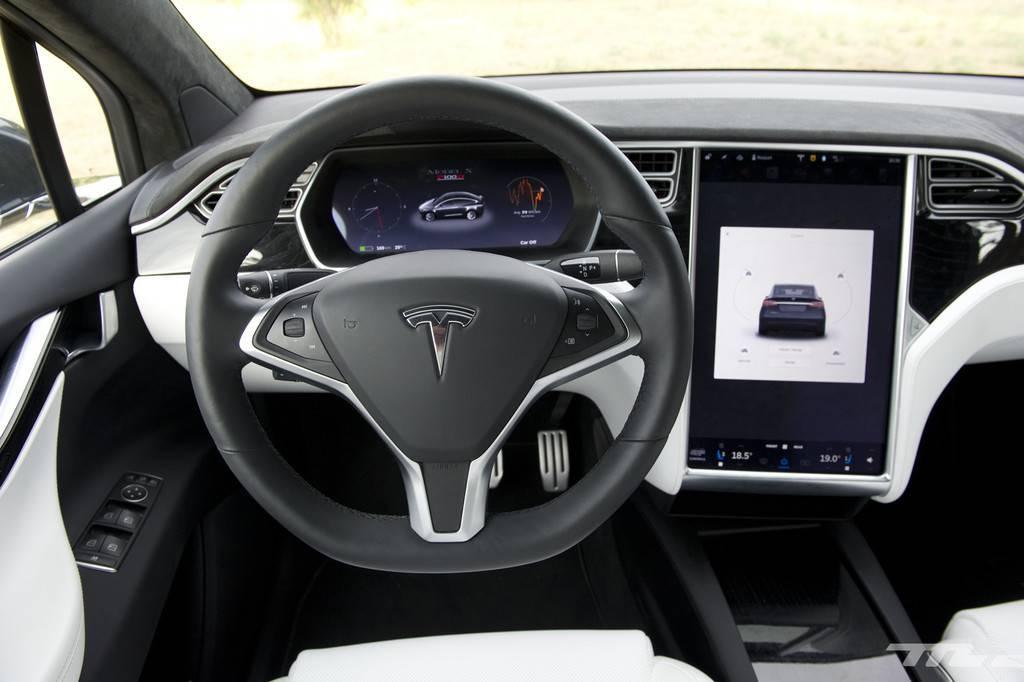 Interior del Tesla 3