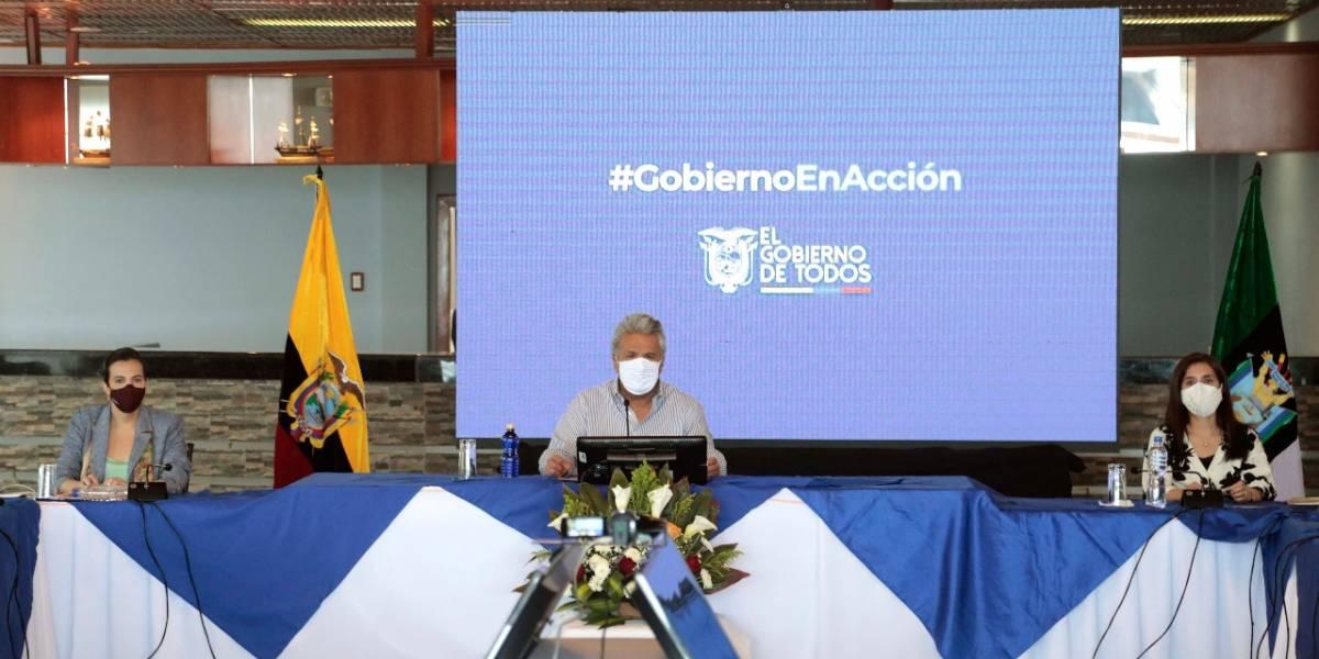 """""""Personas de extraordinaria calidad"""", Lenín Moreno defiende la terna para la Vicepresidencia"""