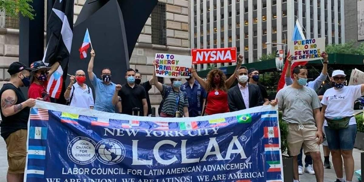 En Boston, Nueva York y Puerto Rico: protestan por contrato de LUMA Energy con la AEE