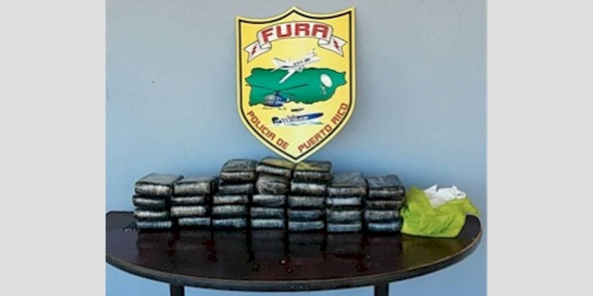 Incautan cerca de 100 kilos de cocaína en Rincón