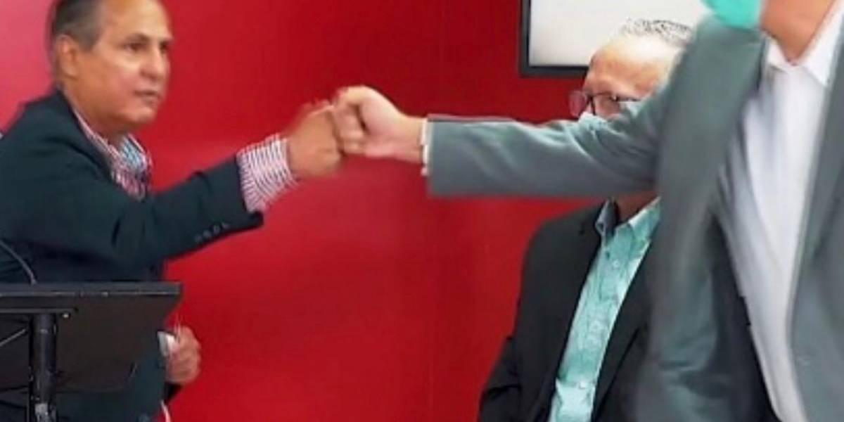 Eduardo Bathia suspende actividades de campaña tras positivo a COVID de Conny Varela