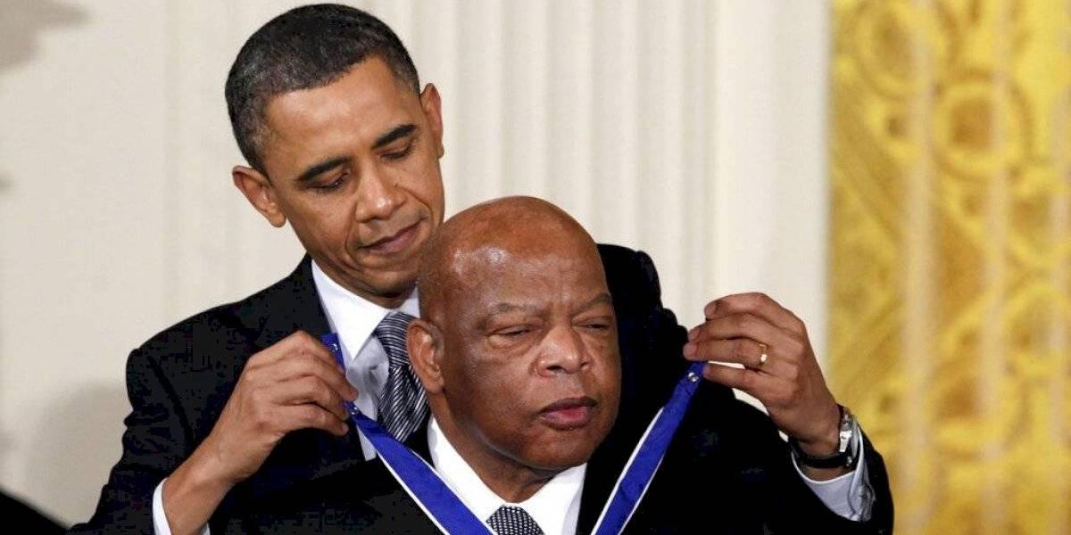 Pesar por la muerte de John Lewis, líder de derechos civiles en EEUU