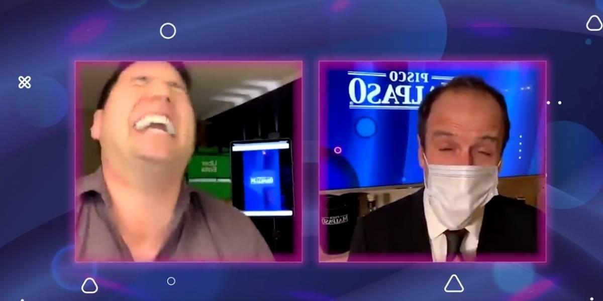 """""""Agradezco su pregunta"""": Stefan Kramer se luce tras imitar al ministro Enrique Paris"""