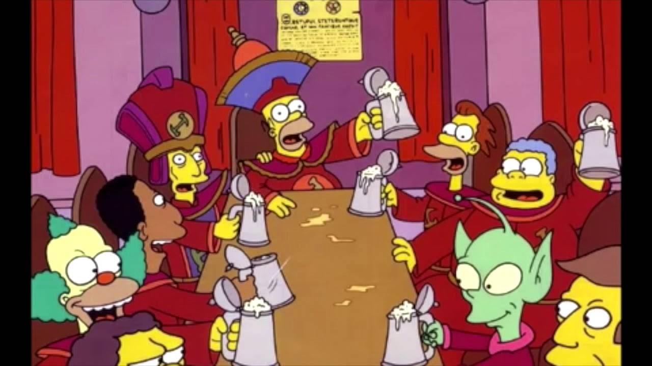 Los Simpson Atlántida
