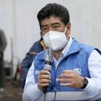 Alcalde de Quito, Jorge Yunda, da positivo al COVID-19