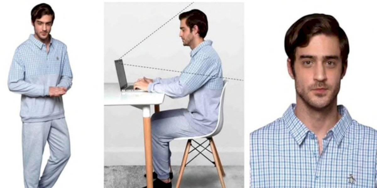 Lo que faltaba: lanzan pijama-camisa ideal para el teletrabajo