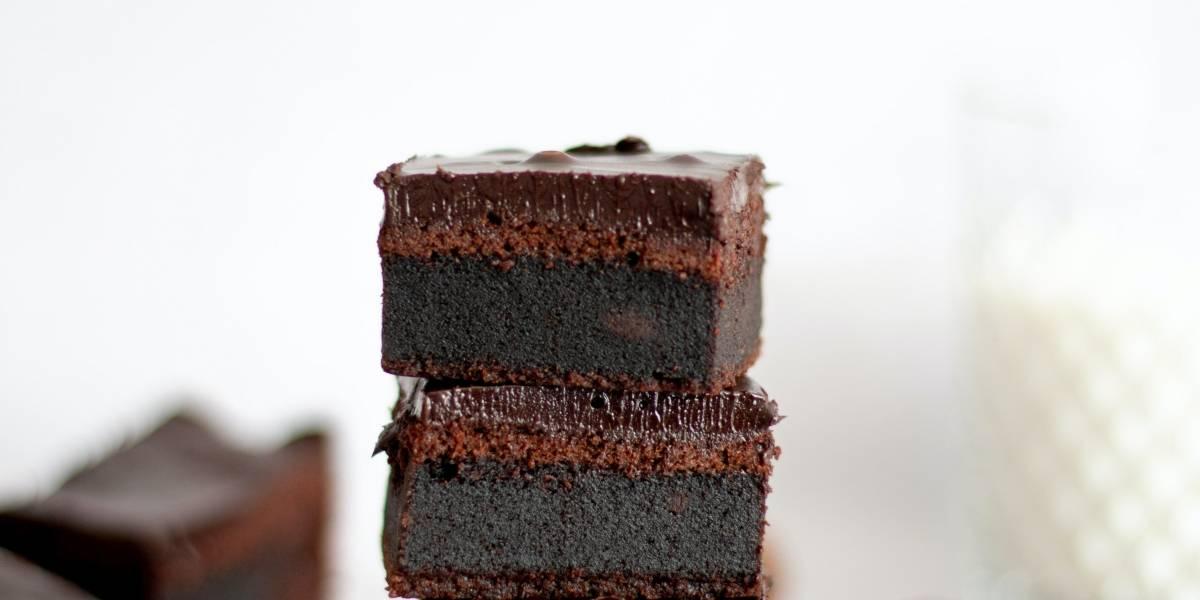 A receita para você fazer um delicioso brownie com apenas 3 ingredientes