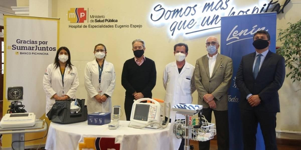 Ministerio de Salud recibió 117 equipos médicos para 5 hospitales de Quito
