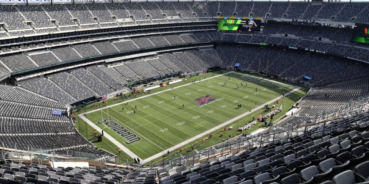 Giants y Jets no tendrán público en sus juegos de local