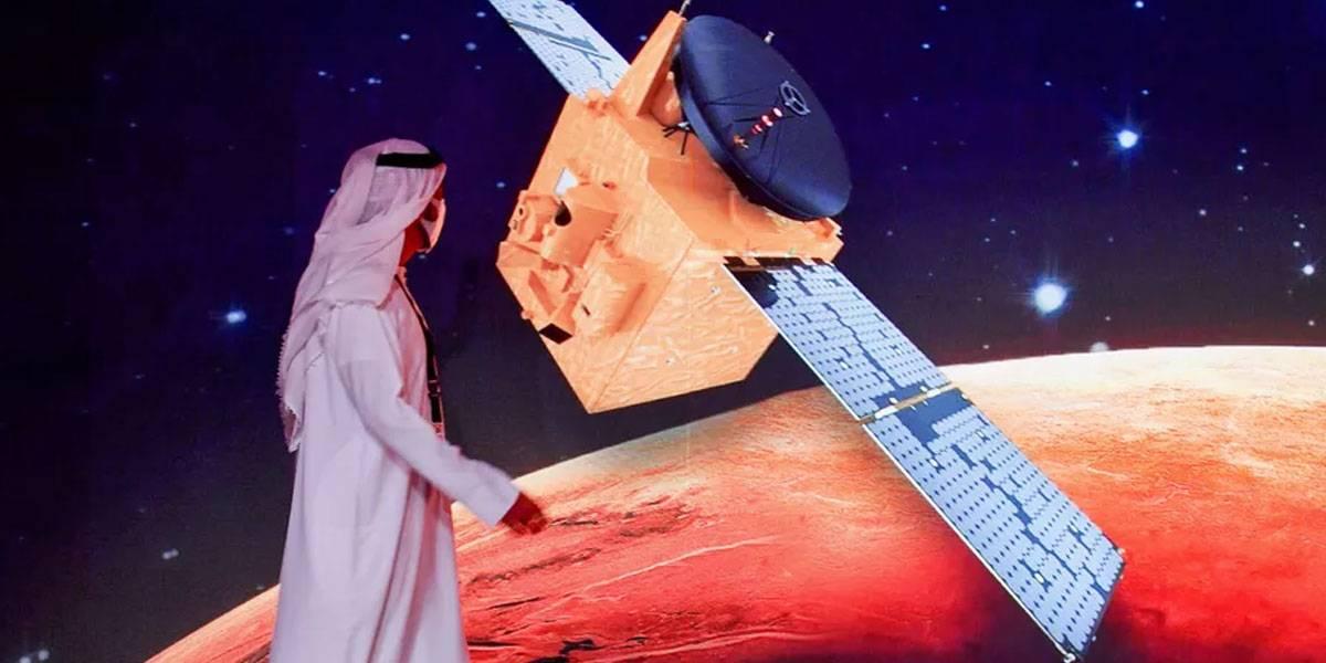 Emiratos Árabes Unidos lanza misión espacial a Marte con éxito