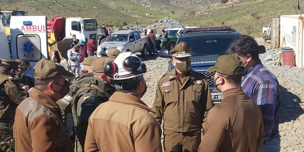 Al menos dos muertos en detonación de explosivos en mina de Punitaqui