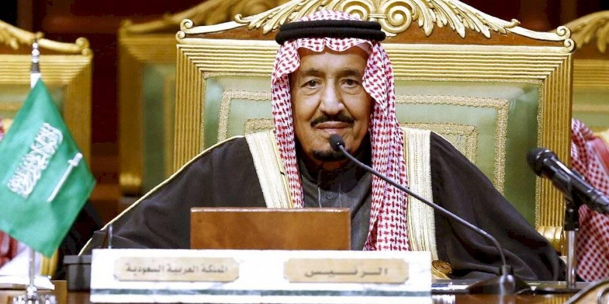 Hospitalizan al rey Salmán de Arabia Saudita
