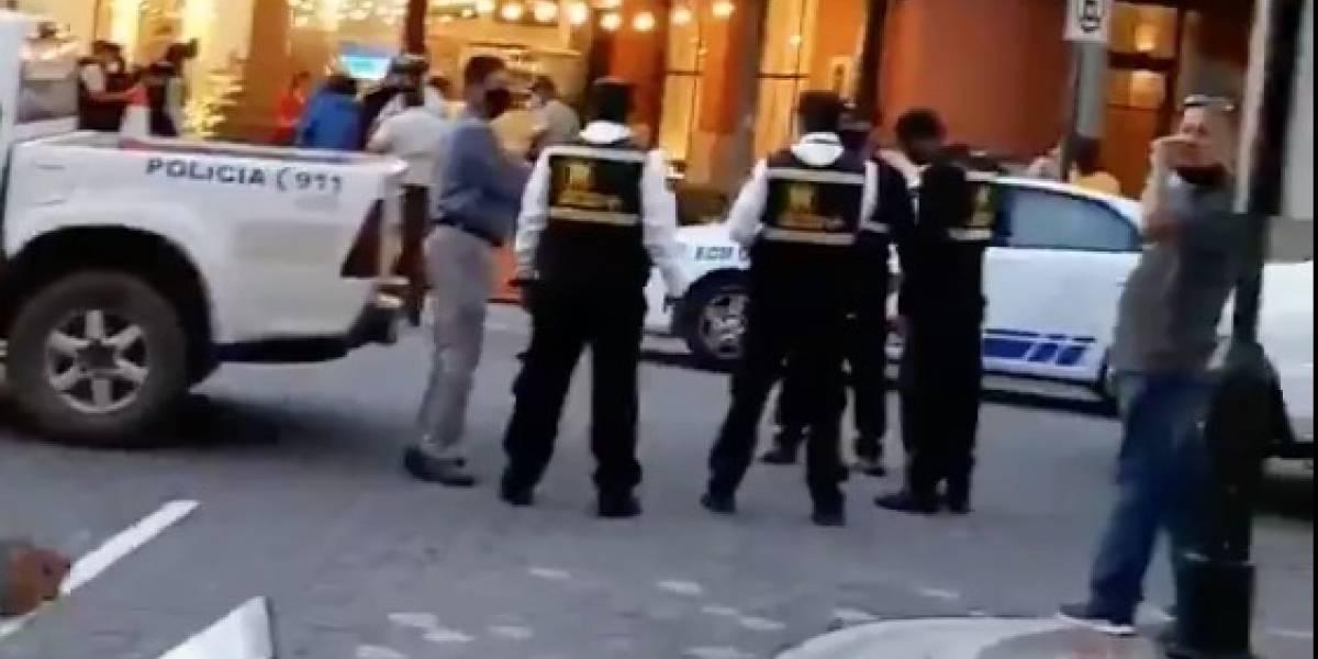 20 de julio: asesinan a hombre en centro comercial de Samborondón
