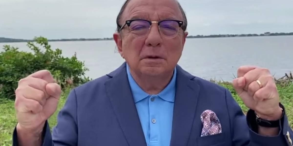 Álvaro Noboa no podrá ser candidato presidencial, según Diana Atamaint