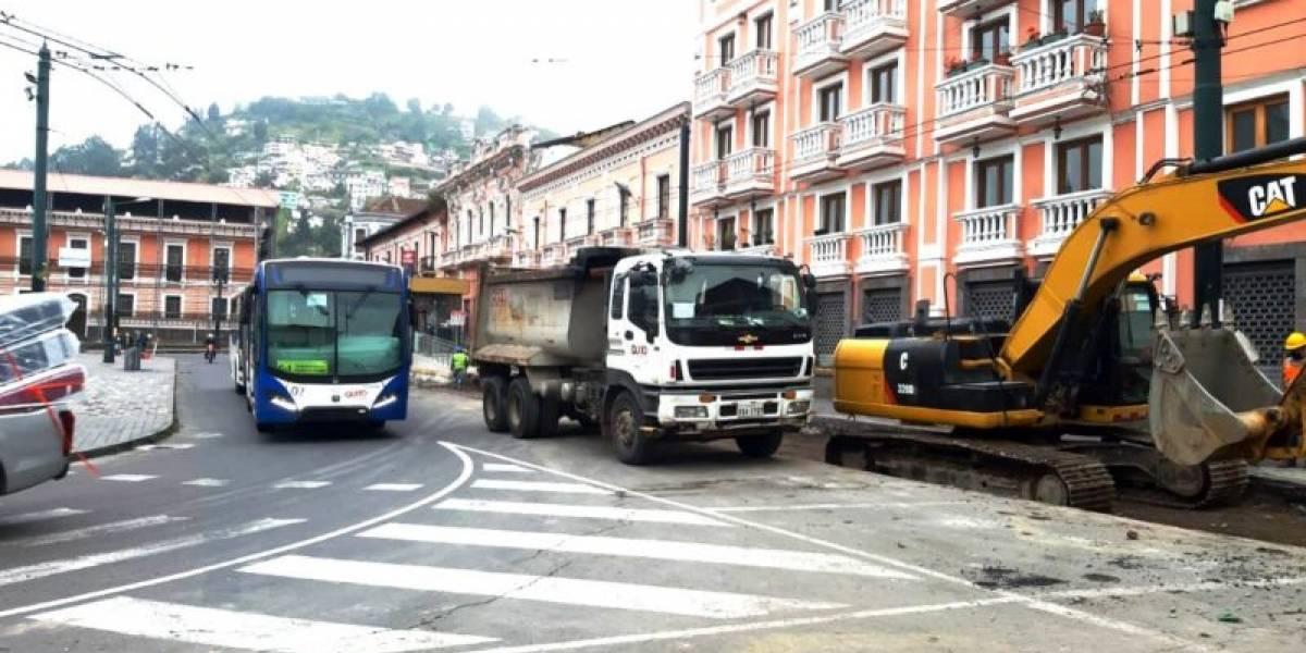 Prevén reapertura de cinco paradas del Trolebús en el Centro Histórico