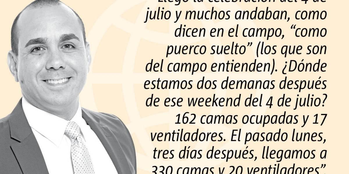 """Opinión de Alex Delgado: No es la reapertura """"stupid!"""""""