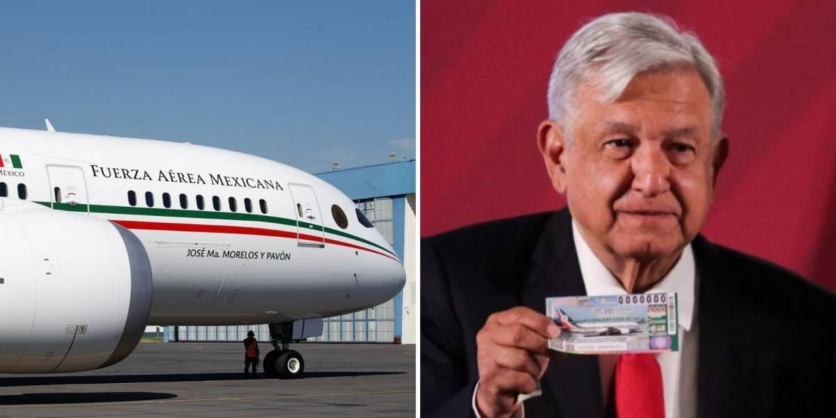 Avión presidencial ya viaja de Victorville rumbo a la Ciudad de México