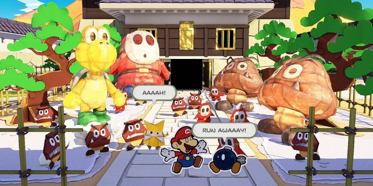 Nintendo se (des)dobra para agradar em 'Paper Mario: The Origami King'