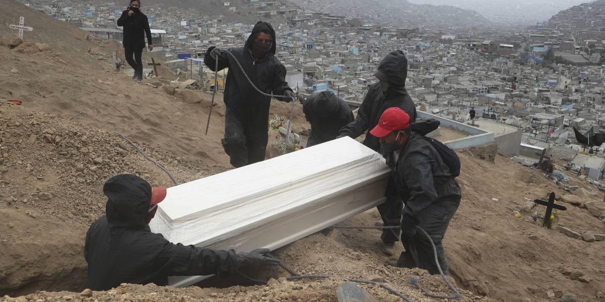 Perú está al borde de duplicar sus muertos por Covid y quedar bajo EEUU y Brasil en fallecidos