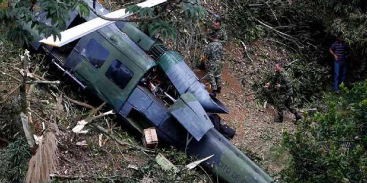 ¡Tragedia en Colombia! Nueve muertos tras caída de helicóptero militar