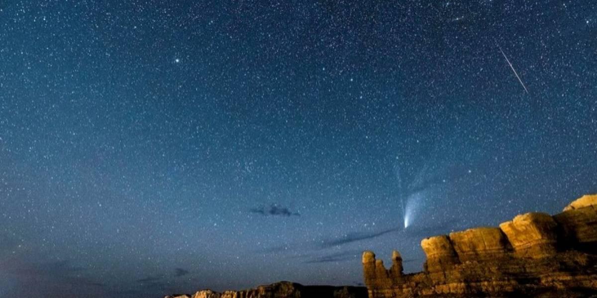 Astronomía: Lluvia de meteoros se unió al cometa Neowise