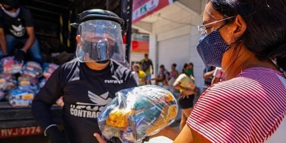 Projeto 'Mães da Favela' ajuda 20 mil famílias com dinheiro, comida e produtos de limpeza