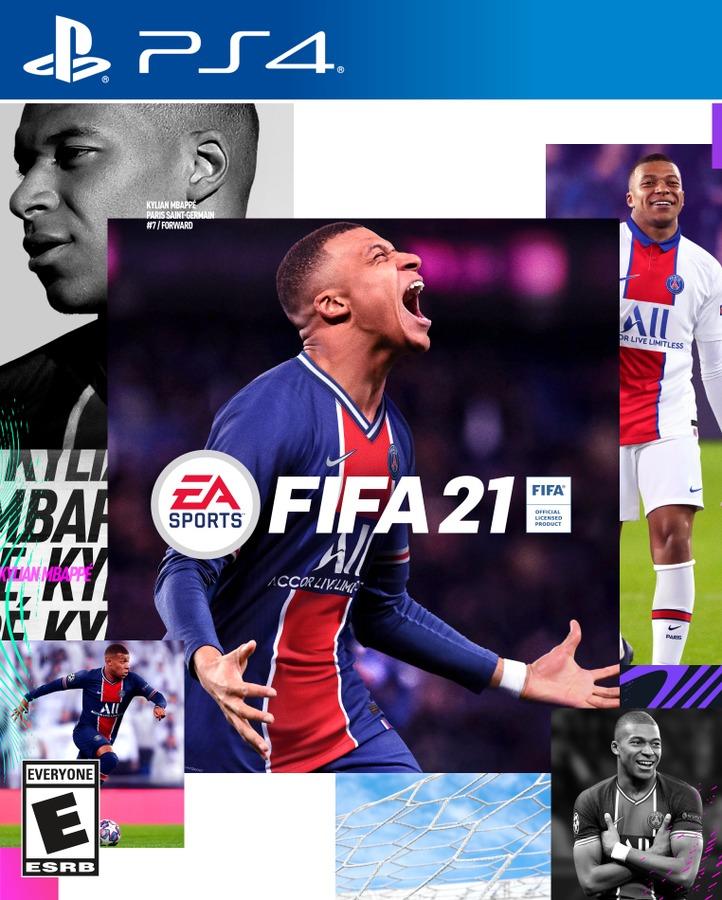 Kylian Mbappé, portada del FIFA 21