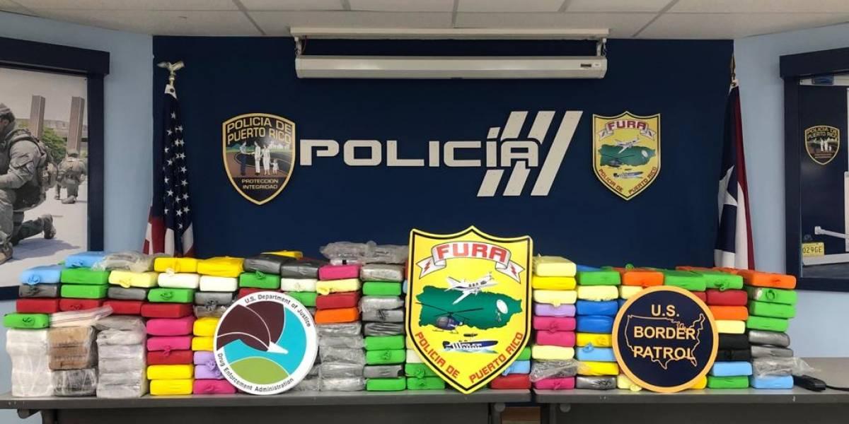 Policía incauta millonario cargamento de cocaína en Añasco