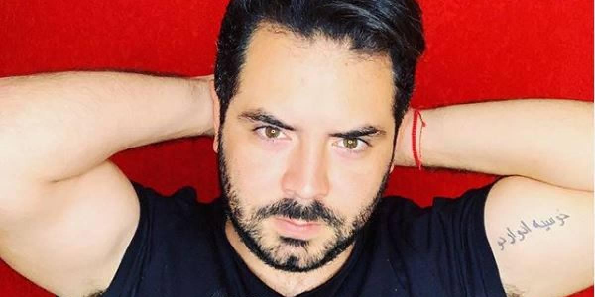 José Eduardo Derbez desató suspiros con selfie sin camisa en su baño