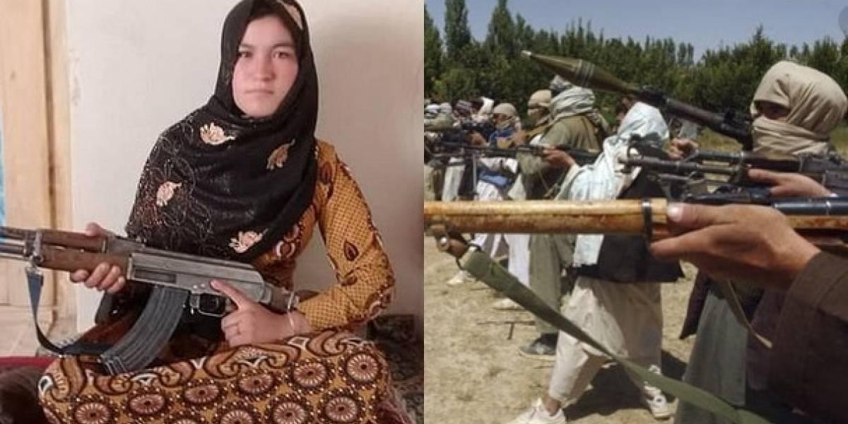 Garota mata dois membros do Talibã e fere outros após assassinaram seus pais