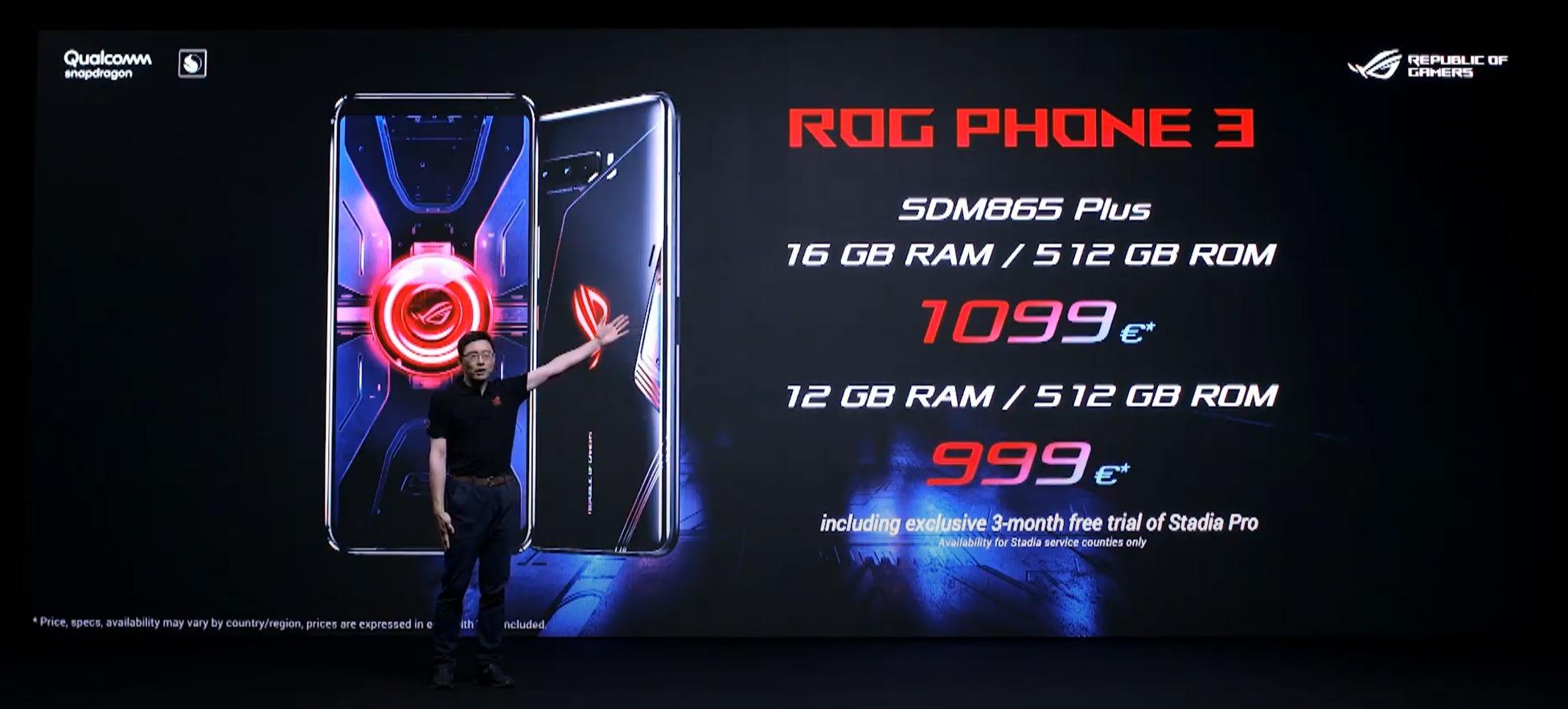 rog phone 3 precios