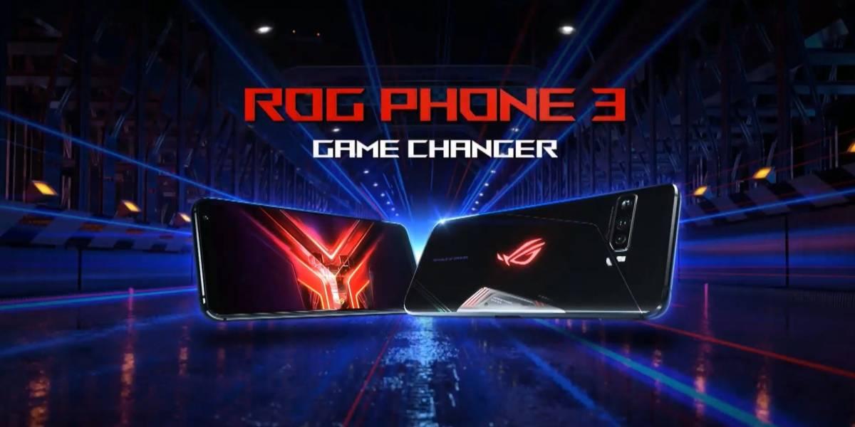 Asus presenta oficialmente el ROG Phone 3 y es una bestia de celular