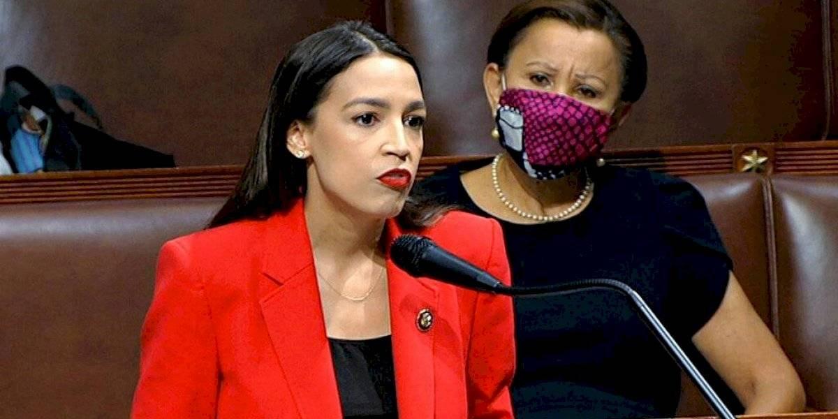 Alexandria Ocasio-Cortez condena la misoginia en el Congreso de Estados Unidos