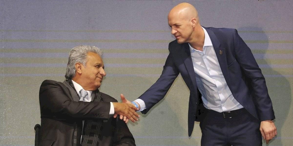 Jordi Cruyff renunció a la banca de Ecuador sin haber dirigido un entrenamiento