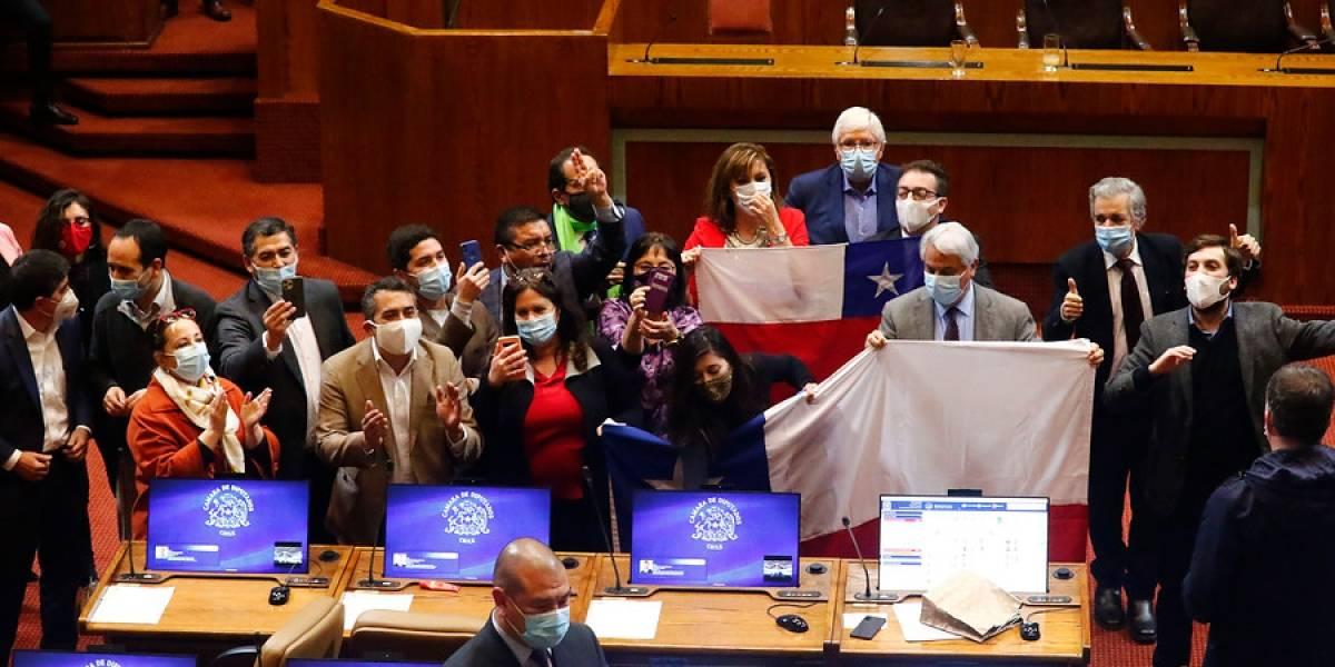 Con 35 votos de Chile Vamos a favor: así fue la última votación del retiro de fondos de AFP en la Cámara Baja
