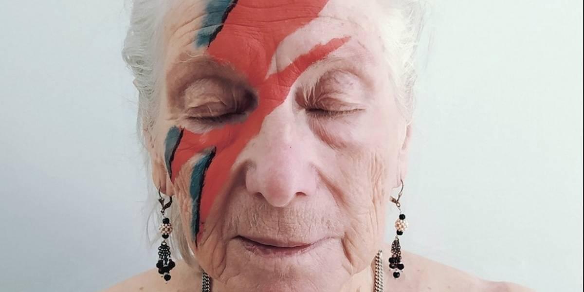 Residentes de asilos de ancianos recrean portadas de álbumes clásicos