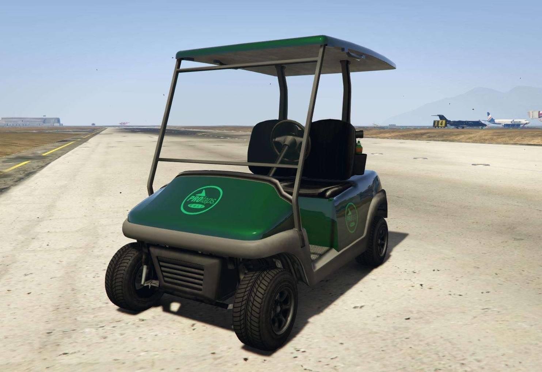 Carrito de Golf GTA