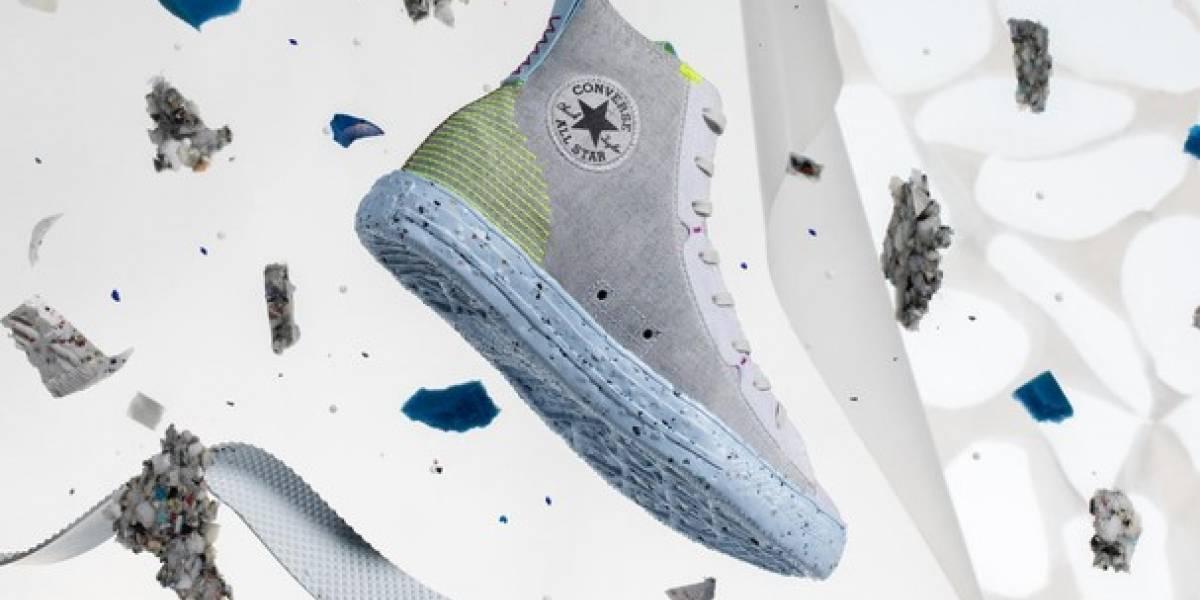 Converse lança tênis com 40% de materiais reciclados