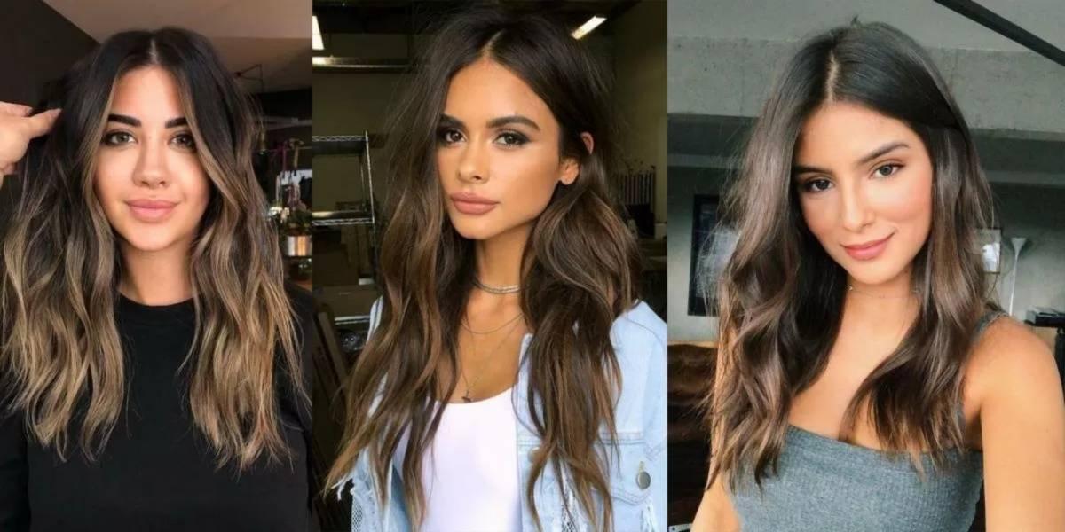 5 cores de cabelo para morenas que destacarão a beleza de seu rosto