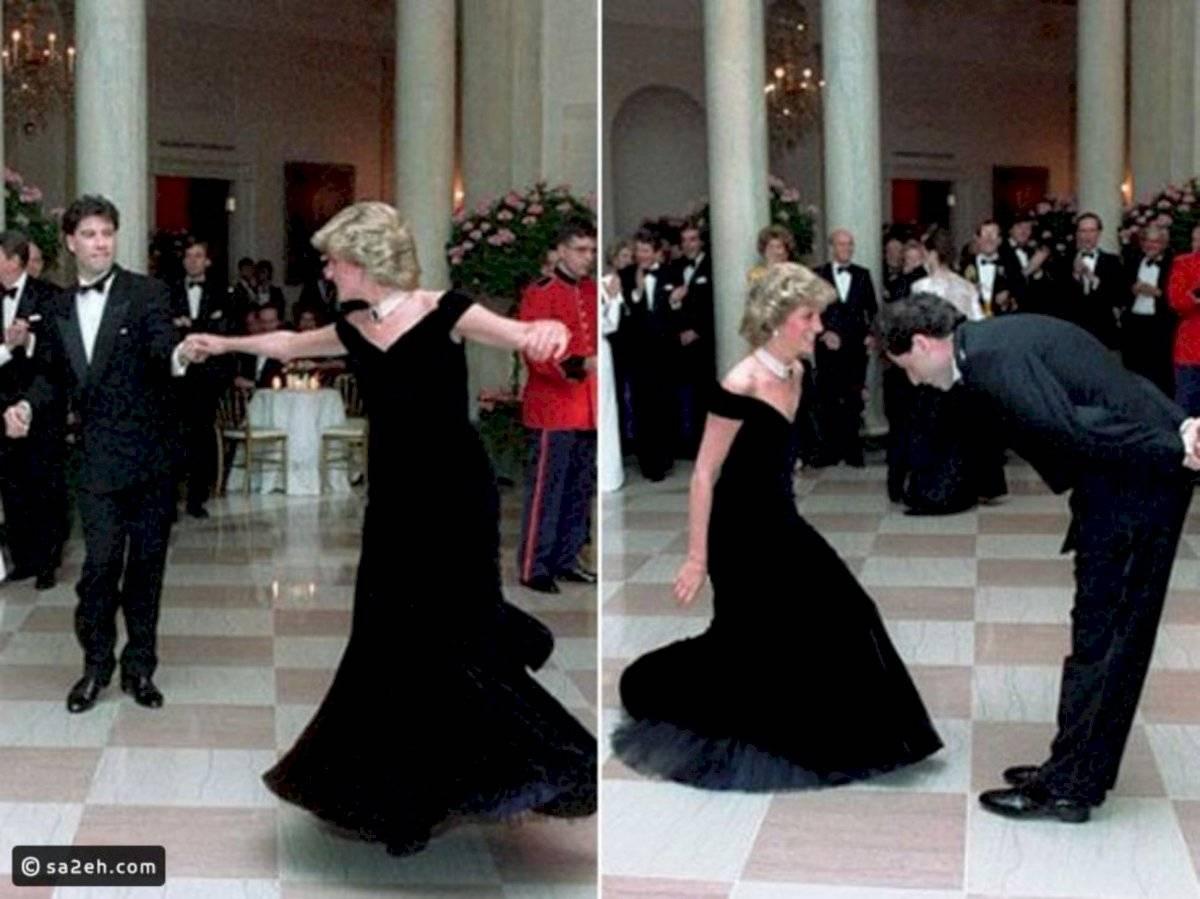 La princesa Diana se lució con un baile en público con el actor John Travolta, de quien eran fanática.
