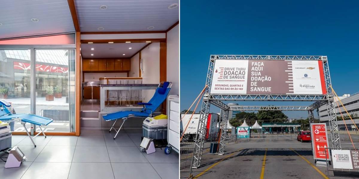 Shopping Eldorado promove campanha de doação de sangue