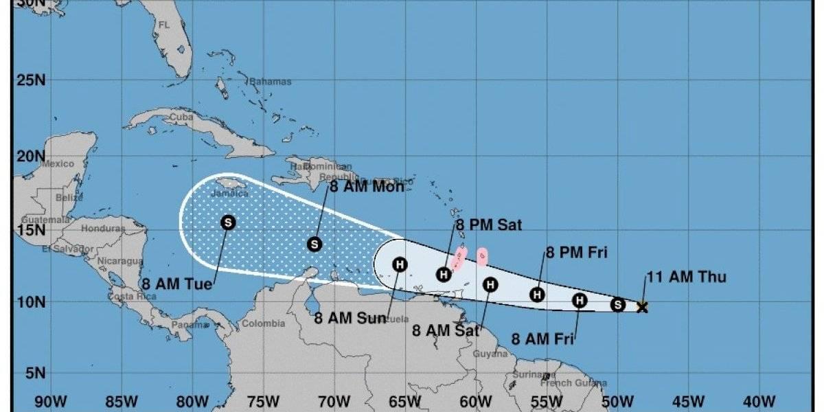 Futuro incierto de la tormenta tropical Gonzalo una vez avance al Mar Caribe