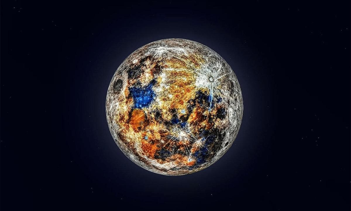 Los colores de la Luna, de acuerdo con la edición de McCarthy