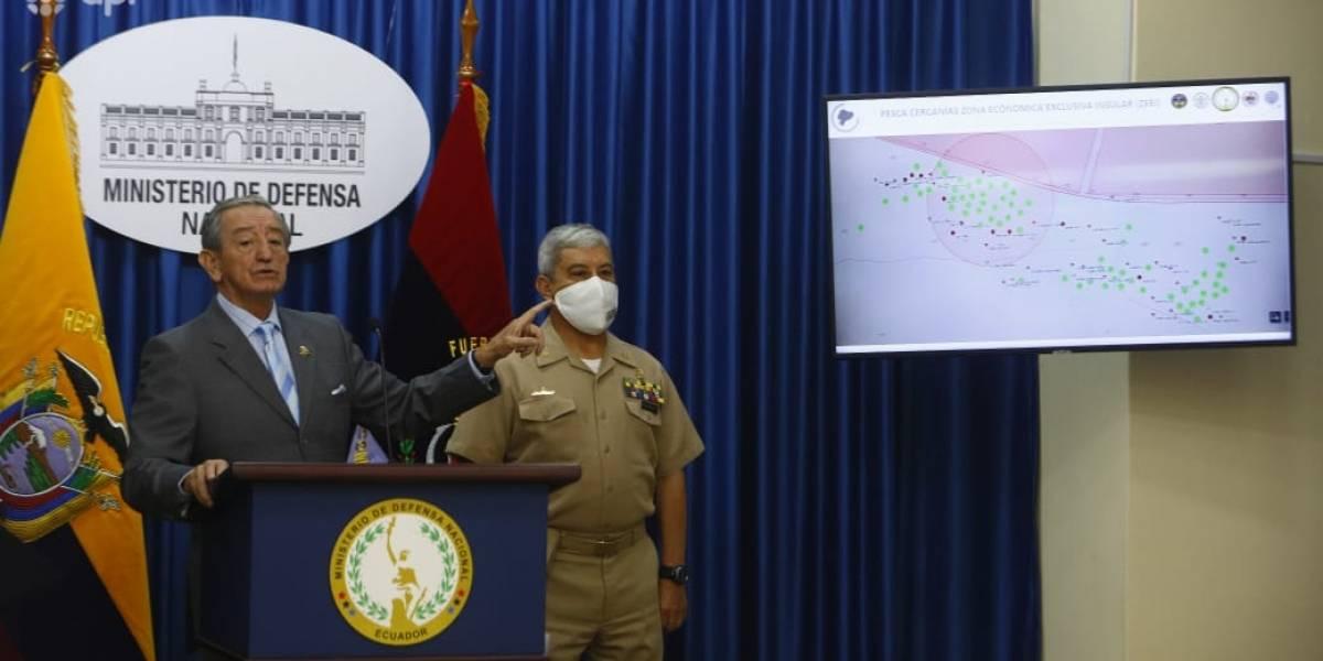 La flota pesquera China no ha ingresado a territorio ecuatoriano, según Oswaldo Jarrín