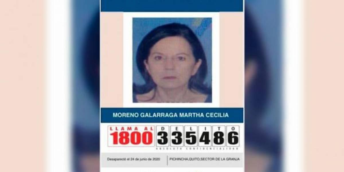 """""""Fui al supermercado y cuando regresé, mi mami no estaba"""": contó la hija de Martha Moreno, desaparecida en Quito"""