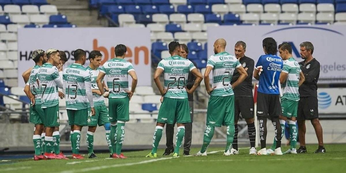 Santos Laguna reporta cuatro positivos a Covid-19 entre sus jugadores