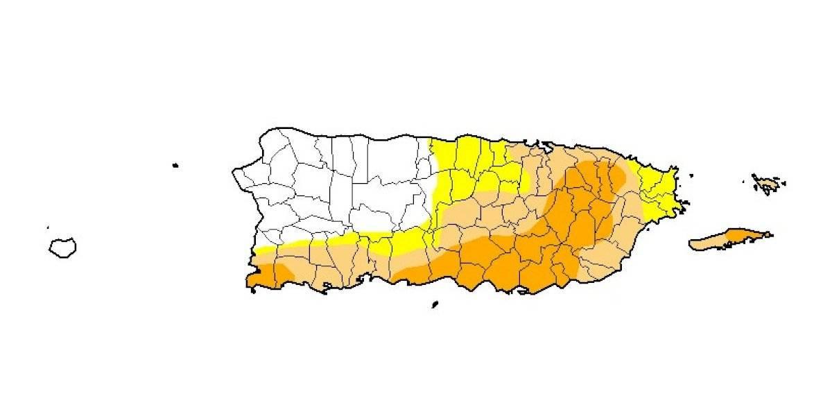 Reportan leve reducción en la sequía en Puerto Rico