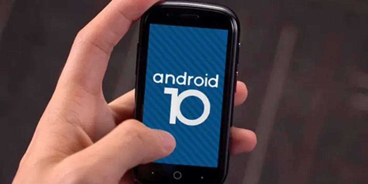 Android 10: conoce al celular más pequeño en usar este sistema operativo