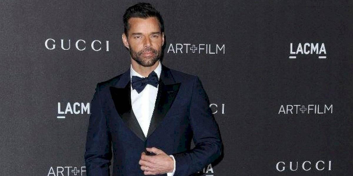 """Ricky Martin recibe una """"propuesta indecente"""" a través de Instagram"""