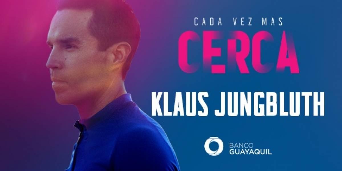 Klaus Jungbluth, un deportista ecuatoriano con garra de acero que se forjó en un camino de perseverancia
